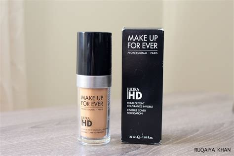 Makeup Forever Cover ruqaiya khan make up for ultra hd invisible cover foundation y345 review and swatch