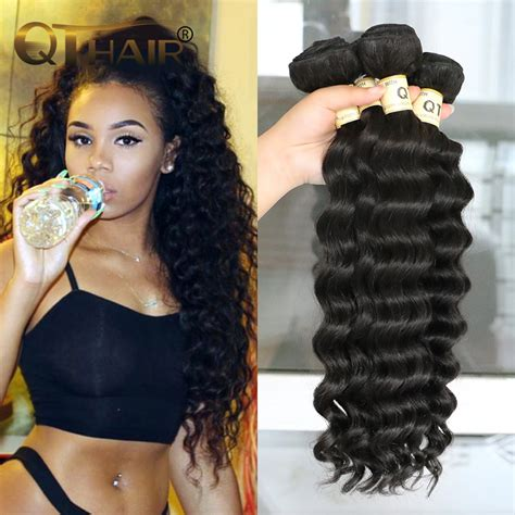 loose deep wavy hair photo aliexpress com buy indian virgin hair loose deep wave 4