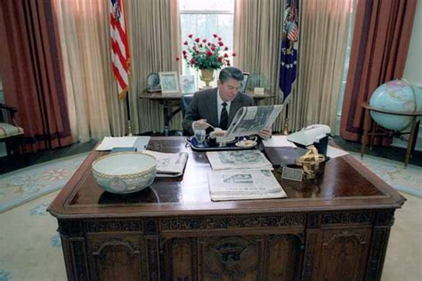 reagan oval office photographs of american history copyright 2010 by