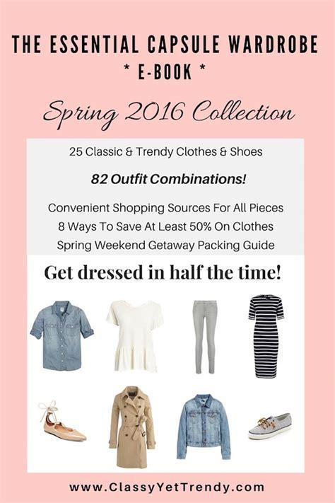 wardrobe picture book the essential capsule wardrobe e book 2016