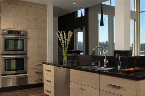 Contemporary Kitchen Cabinet Doors Flat Panel Cabinet Doors Kitchen Modern With 1 Doors 2 Beeyoutifullife