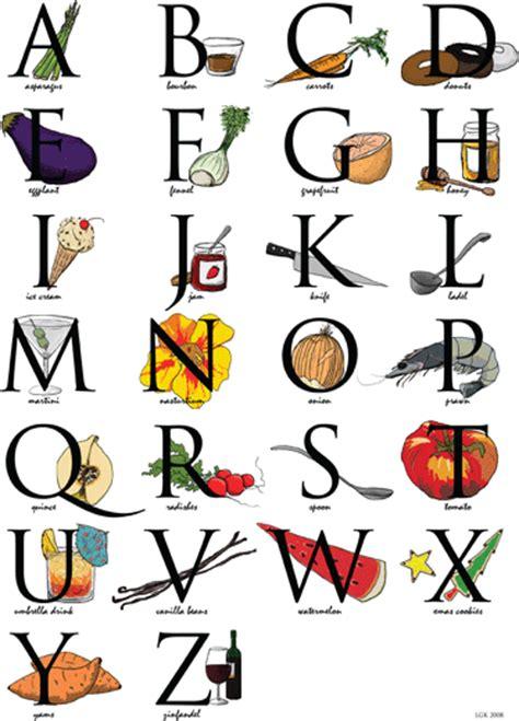Alphabet Kitchen by Lgk Productions Illustrations Kitchen Alphabet