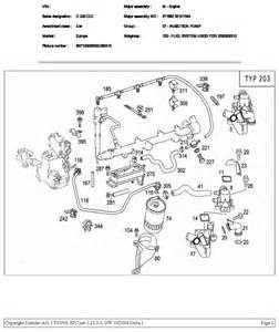 w203 c220 cdi fuel pipe leaks help mbclub uk bringing together mercedes enthusiasts
