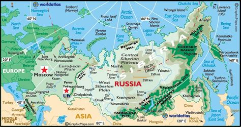 map of russia with cities rivers and mountains is ufa russia in asia