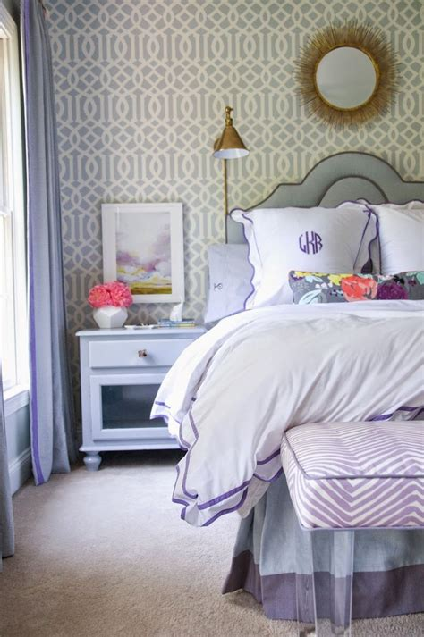 lavendar bedroom 1000 idee 235 n over blue purple bedroom op pinterest