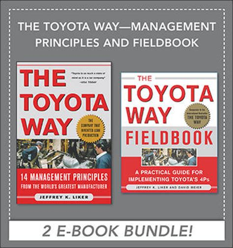 Toyota Way Ebook The Toyota Way Management Principles And Fieldbook