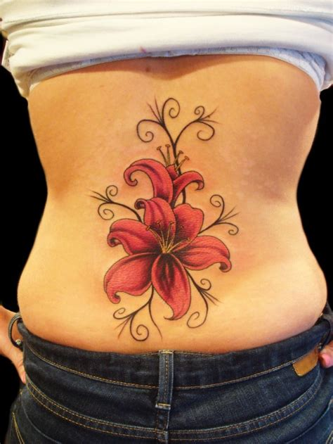 tattoo flowers on back 20 sexy back tattoos for girls