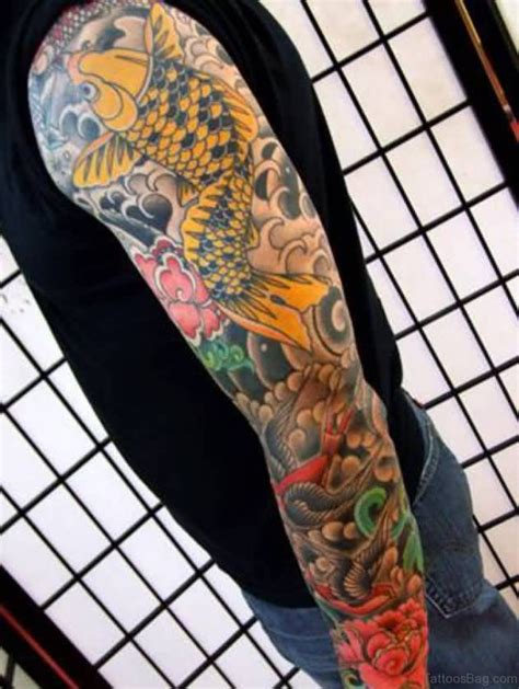 koi fish tattoo sleeve designs 66 stunning fish tattoos on sleeve