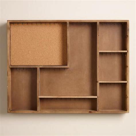 hardwood jewelry armoire wood jewelry armoire wall storage world market