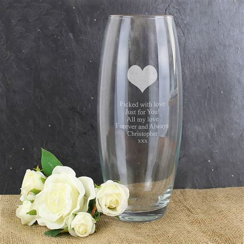 Gift Vases by Personalised Vase Gift By Sassy Bloom As Seen On Tv