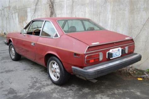 Lancia Beta Rust Fwd 1976 Lancia Beta Coupe