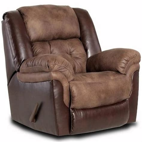 ivan smith sofas homestretch 139 casual rocker recliner ivan smith