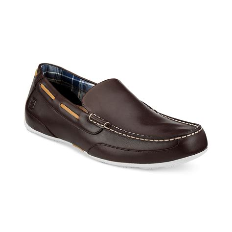 sperry loafers sperry top sider navigator loafers in brown for