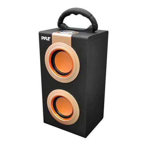 pyle home psbu9 portable bookshelf speaker
