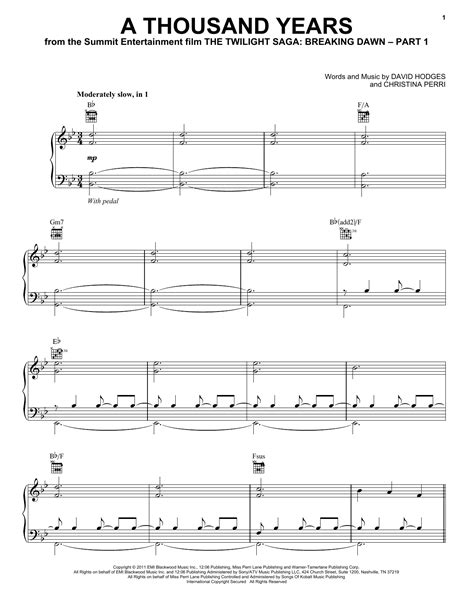 piano tutorial of a thousand years partition piano a thousand years de christina perri