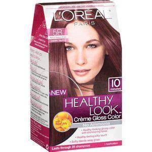 hair dye box search fibers project