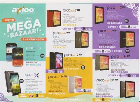 Axioo Pico Pad 7 Ggd by Mega Bazaar Consumer Show 2014 Promo Murah Smartphone