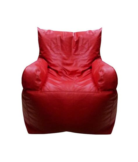 armchair bean bag biggie red bean bag armchair filled with beans buy