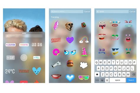Moving Stickers On Instagram