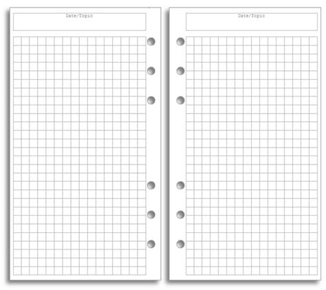 Bullet Journal Pages Printable