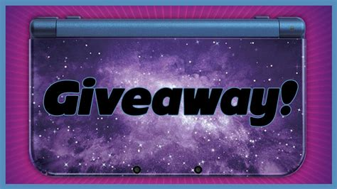 3ds Xl Giveaway - 10k giveaway 3ds xl galaxy style closed youtube