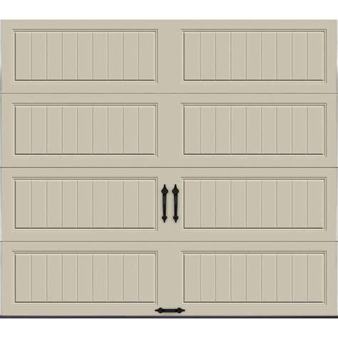 Desert Garage Door by Clopay Gallery Collection 16 Ft X 7 Ft 6 5 R Value