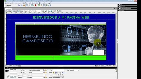 youtube tutorial dreamweaver 8 tutorial basico dreamweaver 8 youtube