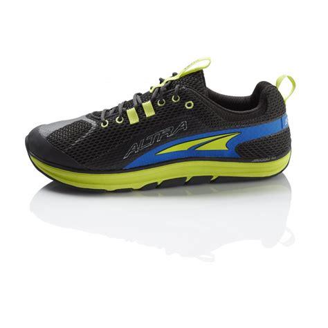 zero drop cushioned running shoes altra torin zero drop mens running shoes in black at