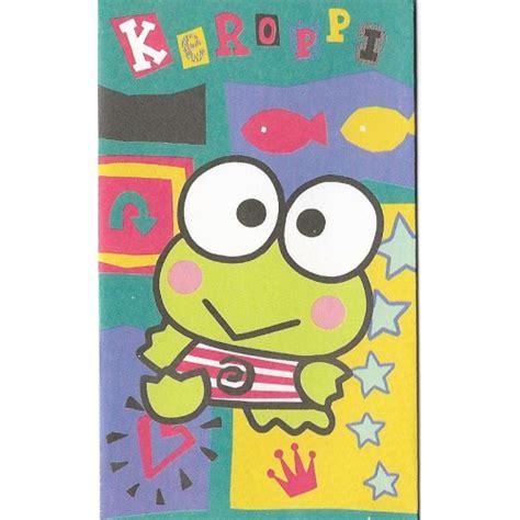 Keropi Mini ano 1996 mini envelope keroppi sanrio