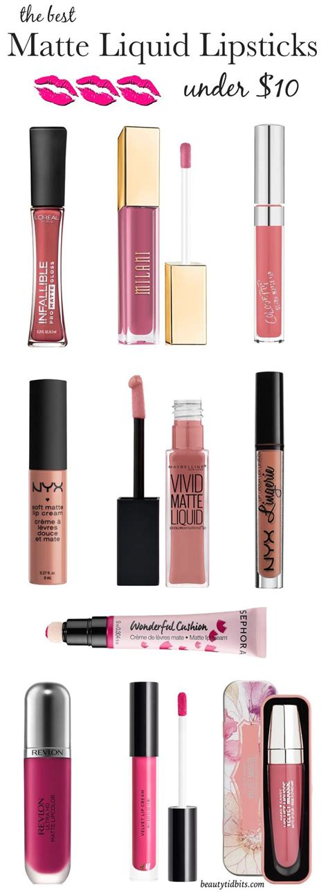 10 Drugstore Make Up Picks That Wont The Bank by Liquid Must Matte Liquid Lipsticks 10