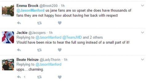 celebrities that respond to fan mail jason manford s debut on the nightly show comes under fire