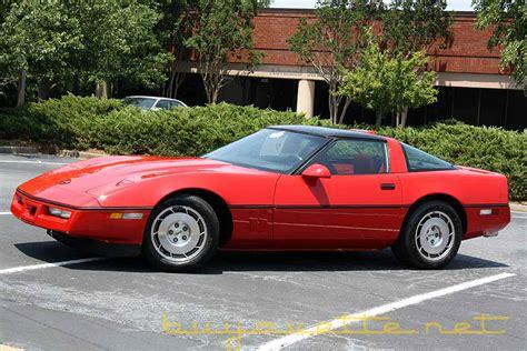 how to fix cars 1986 chevrolet corvette parking system 1986 corvette z51 for sale