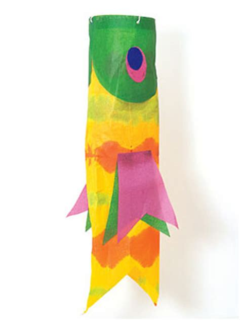Tissue Paper Fish Craft - craft ideas free paper crafts at womansday