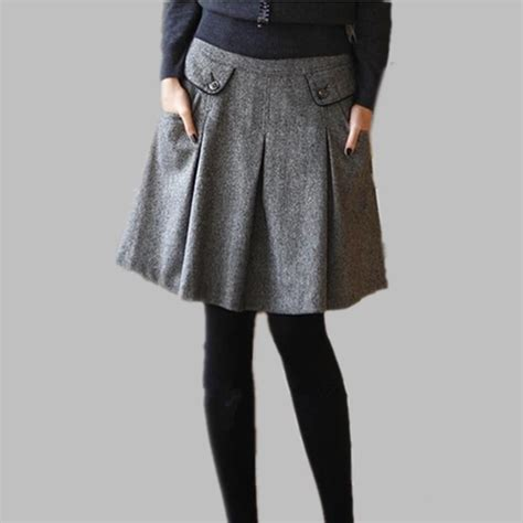 aliexpress buy new 2016 autumn winter wool skirts