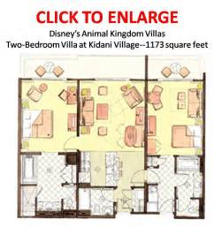 Animal Kingdom Lodge 2 Bedroom Villa Floor Plan by Looking For Good Floor Plan The Dis Disney Discussion