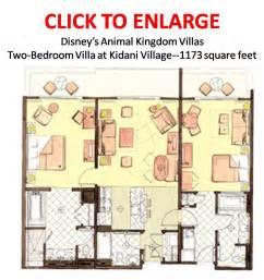 Saratoga Springs Two Bedroom Villa Floor Plan looking for good floor plan the dis disney discussion