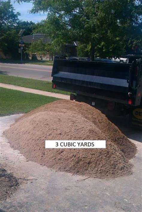 1 cubic yard of gravel gravel barrie delivery sand stones
