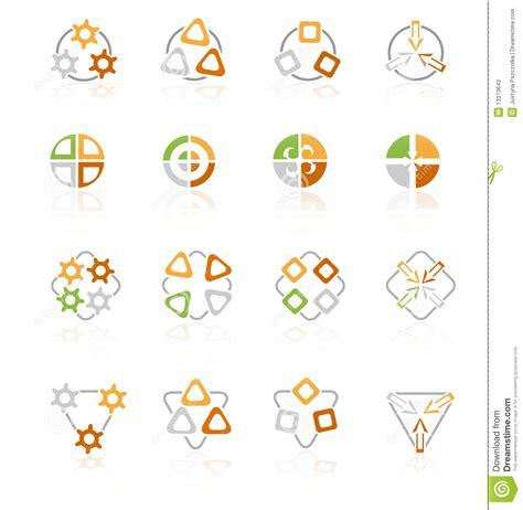 logo symbols for companies geometric symbols logo company stock photos image 13373643