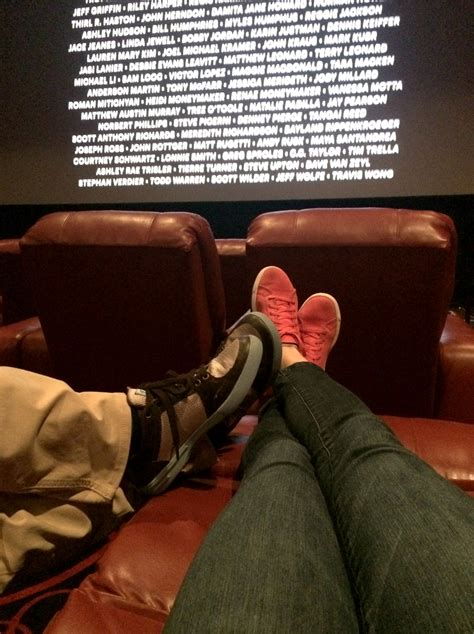 Cinema With Reclining Seats by In