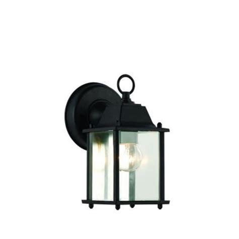 home depot coach lights bel air lighting wall mount 1 light outdoor black coach