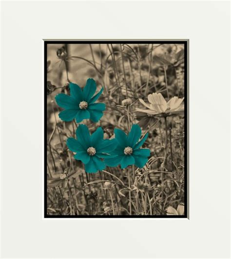teal wall decor blue and brown framed brown blue teal