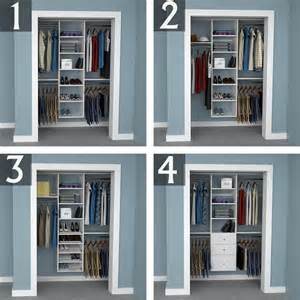 Closet Design Ideas Design Ideas For 6 Foot 3 Foot And 2 Foot Reach In