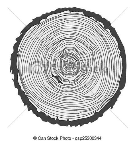 tree ring coloring page tree ring drawings