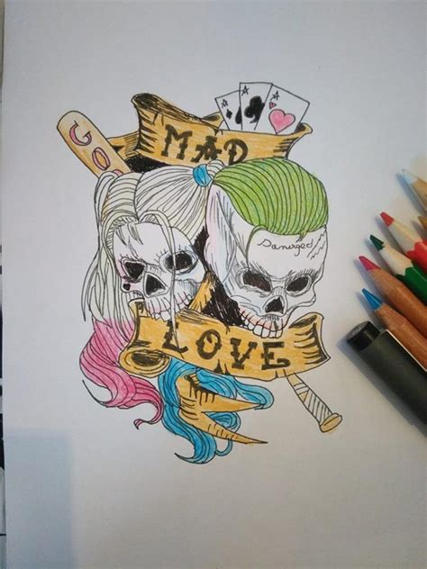 mad love tattoo mad by lunacrystalmoon on deviantart