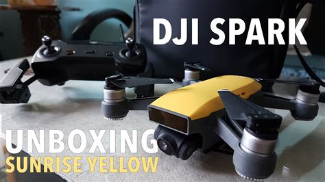 Dji Spark Indonesia unboxing dji spark fly more combo yellow bahasa indonesia