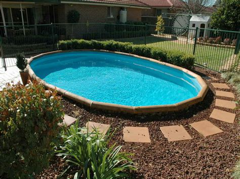 simple pool simple pool landscaping ideas