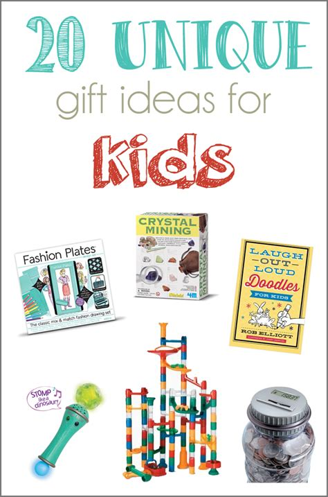 best gifts for children 20 unique gift ideas for and a giveaway cutesy crafts