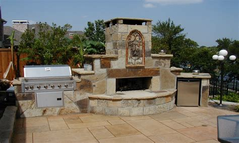 Fireplace And Bbq by Image Gallery Outdoor Fireplace And Bbq