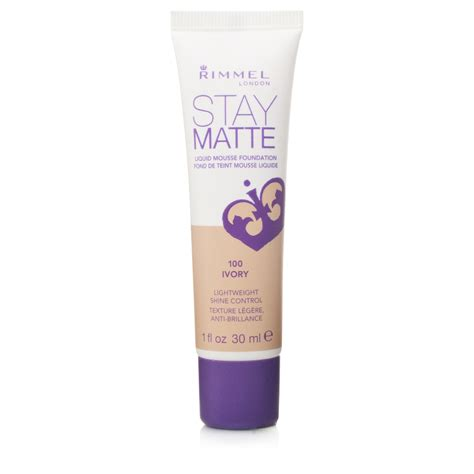 Rimmel Foundation rimmel stay matte foundation make up product reviews and