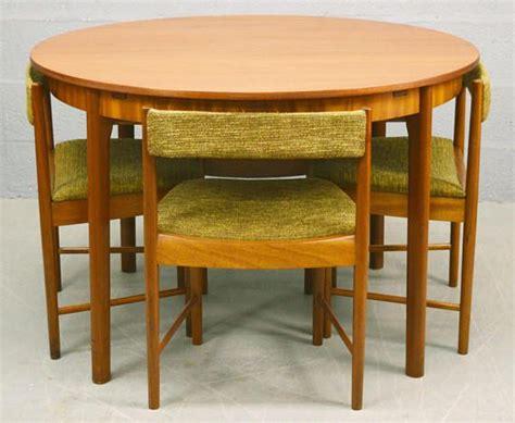 mid century teak mcintosh table  chairs dining room